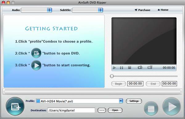 Ainsoft DVD Ripper for Mac