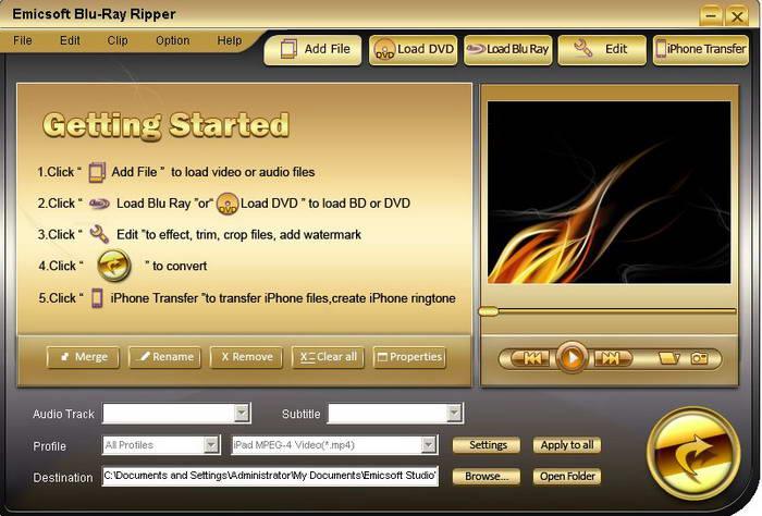 Emicsoft Blu-Ray Ripper