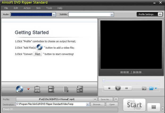Ainsoft DVD Ripper Standard