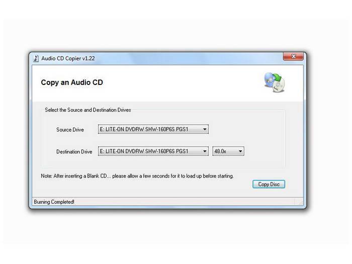 Audio CD Copier