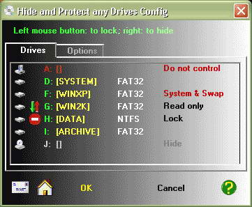 Hide & Protect any Drives