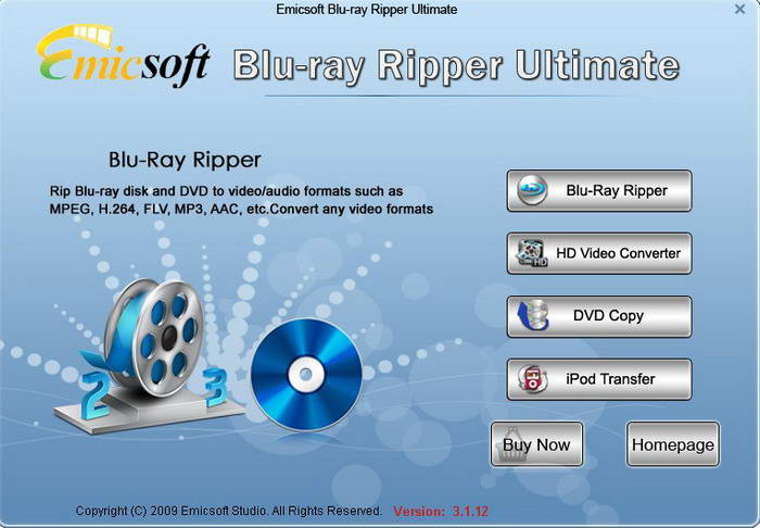 Emicsoft Blu-Ray Ripper Ultimate