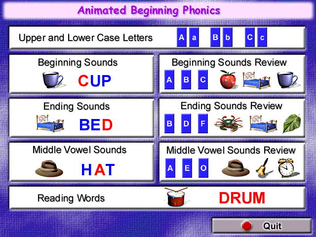 Animated Beginning Phonics