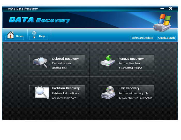 wGXe Data Recovery