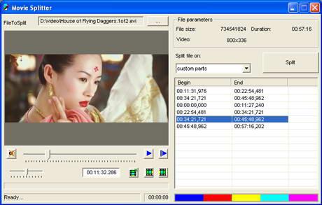 MovieToolbox Movie Splitter