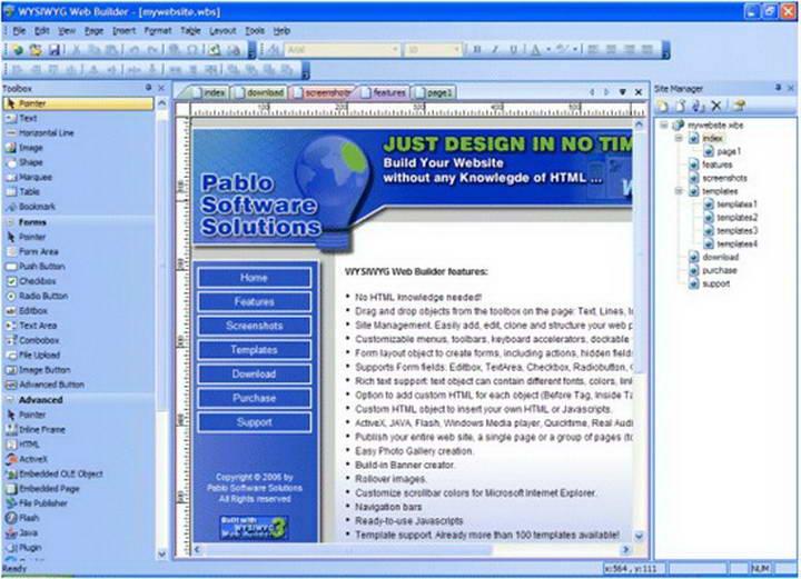 Web Builder Deluxe
