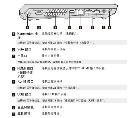 联想电脑B460型使用说明书
