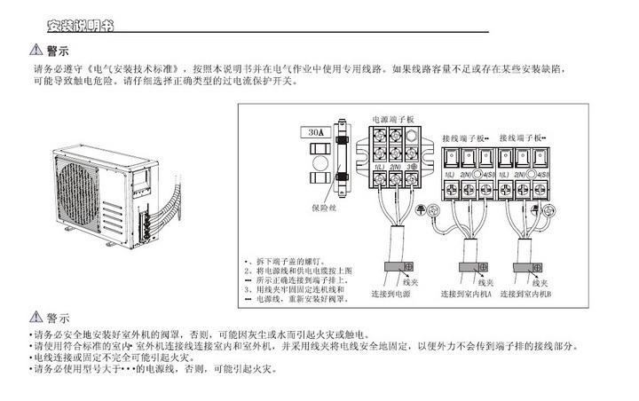 海信kmr-72w2/nfdbp空调器使用安装说明书