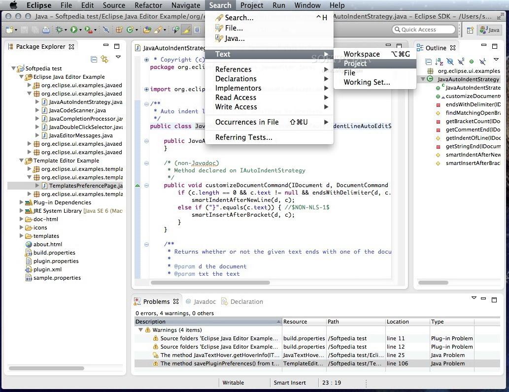 Eclipse SDK For Mac(64bit)