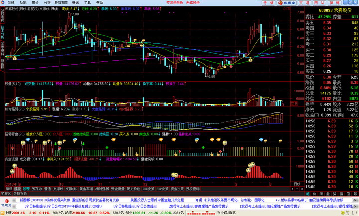 兴业证券优理宝通达信版分析交易系统