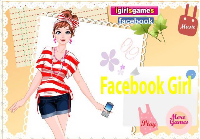 Facebook时尚女孩
