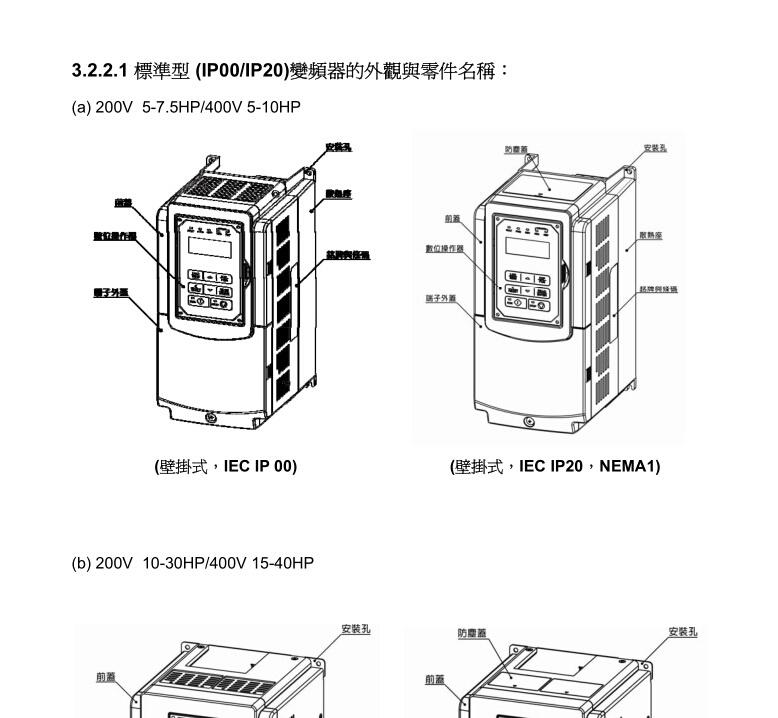 东元F510-4008-H3F变频器使用说明书