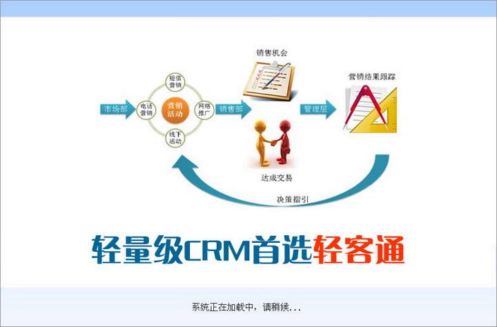 轻客通电话营销客户管理系统软件