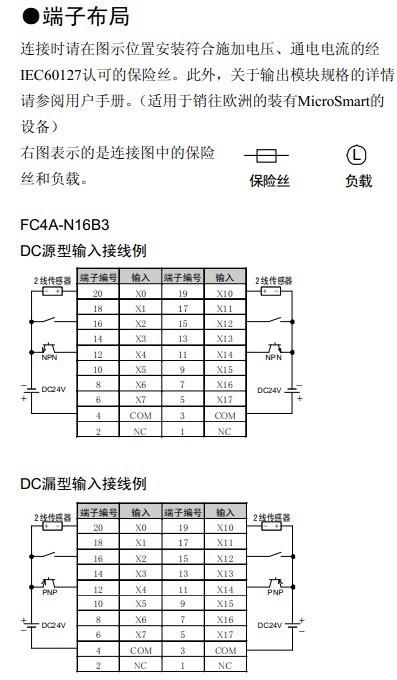 和泉FC4A-T16K3型可编程控制器使用说明书