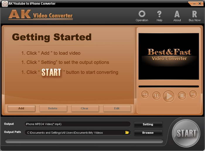 AK YouTube to iPhone Converter