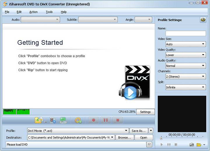 iSharesoft DVD to AVI Converter