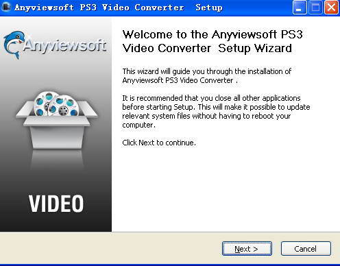 Anyviewsoft PS3 Video Converter