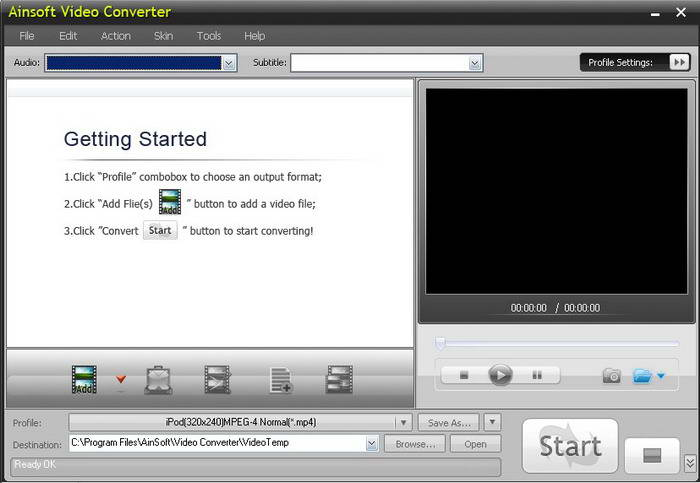 AinSoft Video Converter