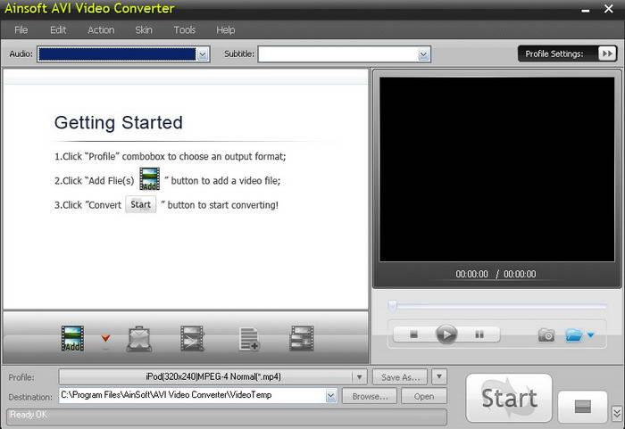 AinSoft AVI Video Converter