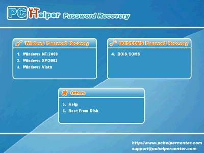 Advanced Windows Password Recovery