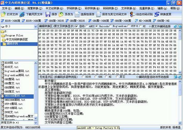 中文内码转换巨匠