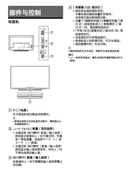 索尼KDL-48R480B液晶彩电使用说明书