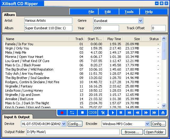Xilisoft CD Ripper