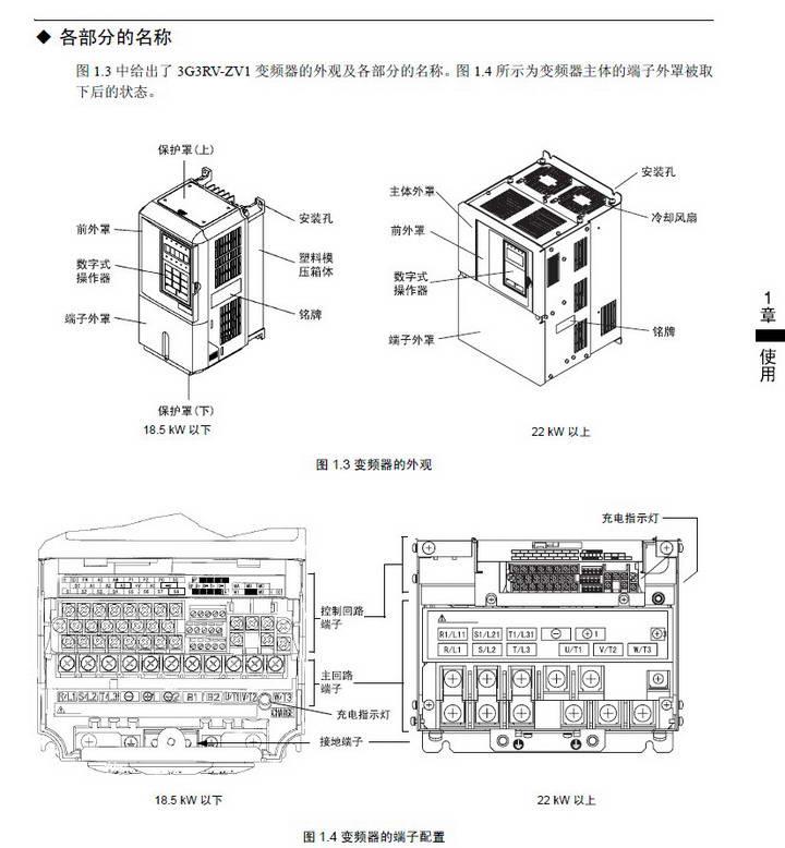 欧姆龙3G3RV-B4450-ZV1变频器说明书