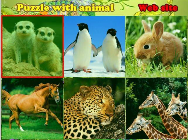 可爱动物图片拼图最新版