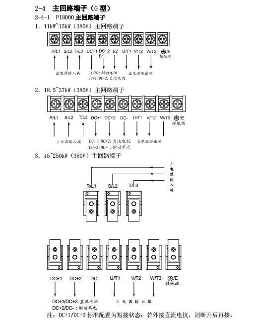 普传pi8100400g3变频器使用说明书