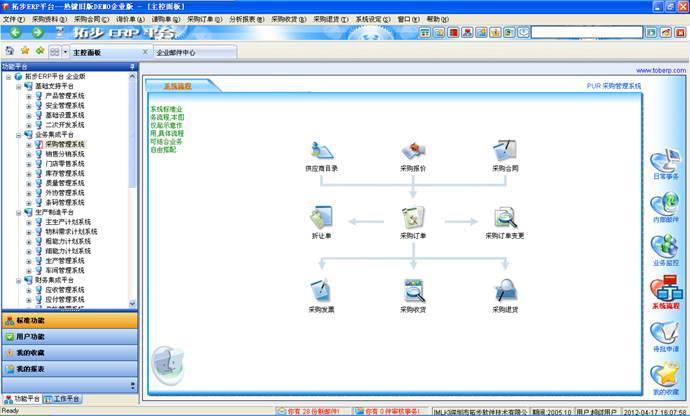 拓步ERP系统平台 标准版
