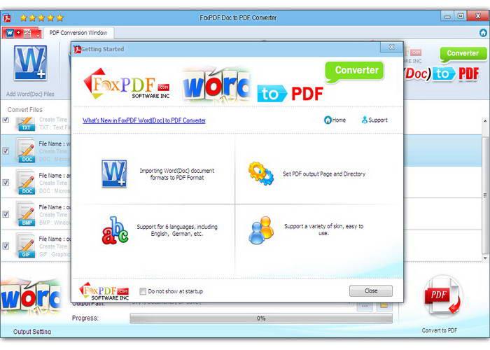 Word Doc转换成PDF转换器