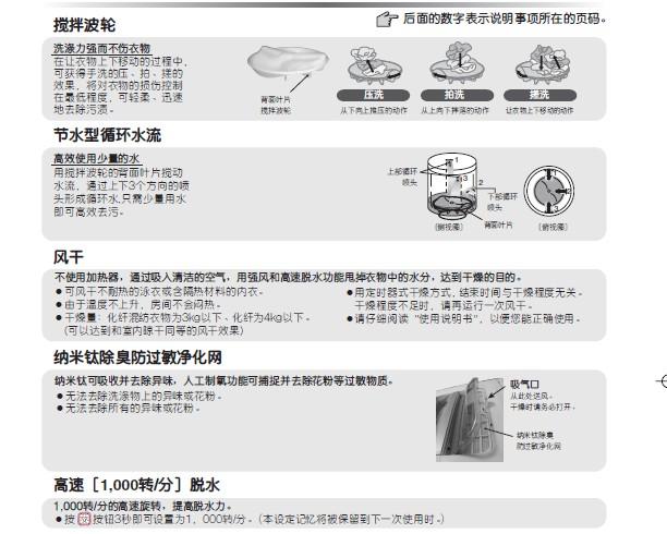 日立xqb60-fz全自动洗衣机说明书