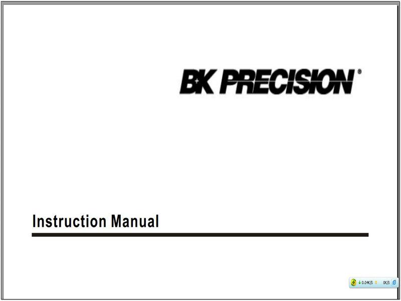 BK 308A说明书