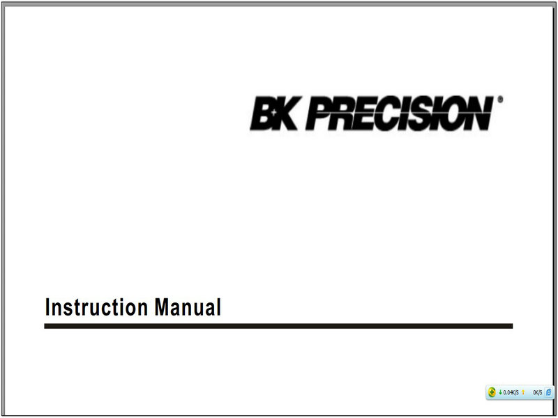 B&K 308A说明书