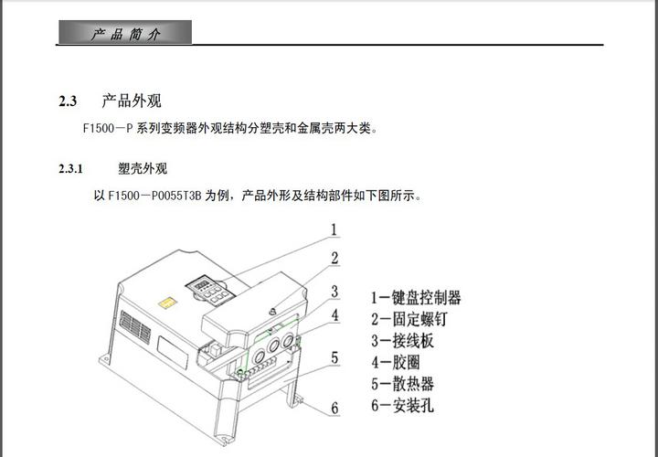 欧瑞f1500-p变频器说明书