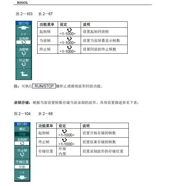 普源精电DS1022CD数字示波器用户手册