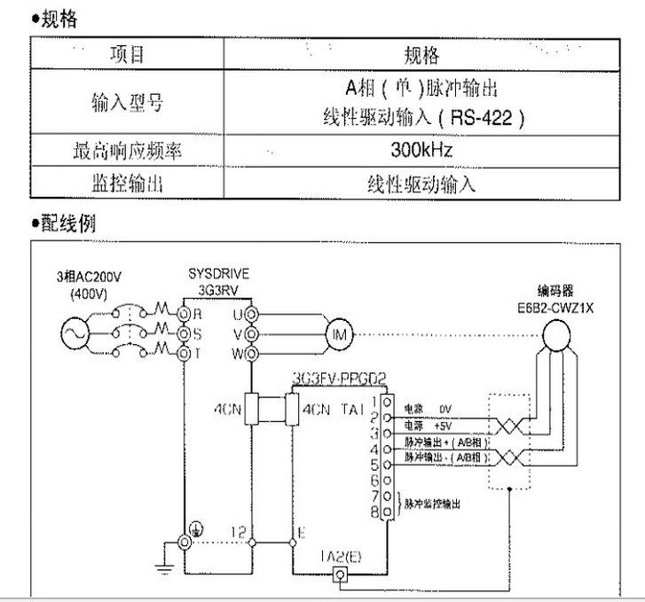 omron3g3rv-a2022变频器说明书官方下载|omron3g3rv
