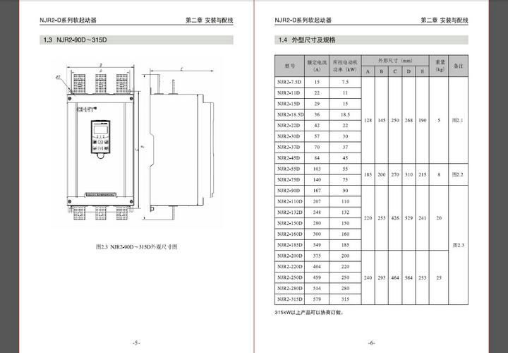 正泰njr2-400d软起动器使用说明书官方下载|正泰njr2