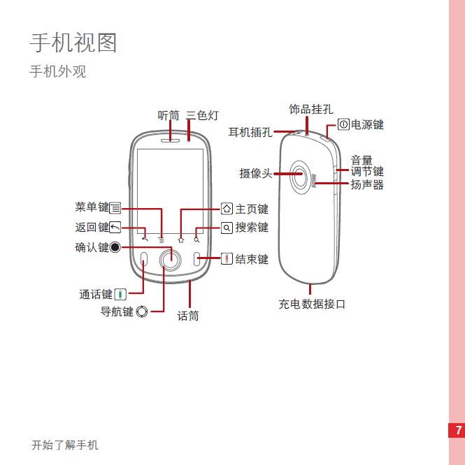 华为c8500手机使用说明书