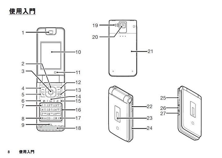 夏普 SX633手机 使用说明书