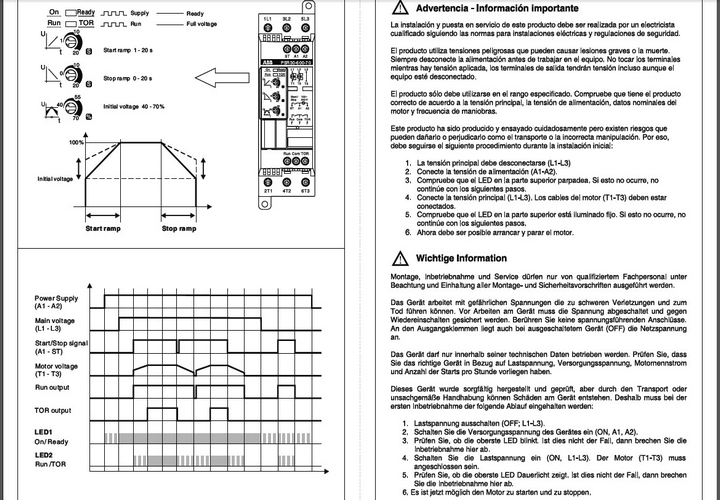 ABB软起动器PSR30英文使用说明书