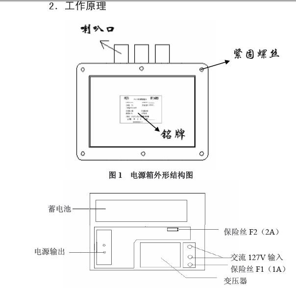 隔爆兼本安型不间断电源箱kdw33使用说明书