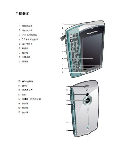 索尼爱立信 U8i手机 使用说明书