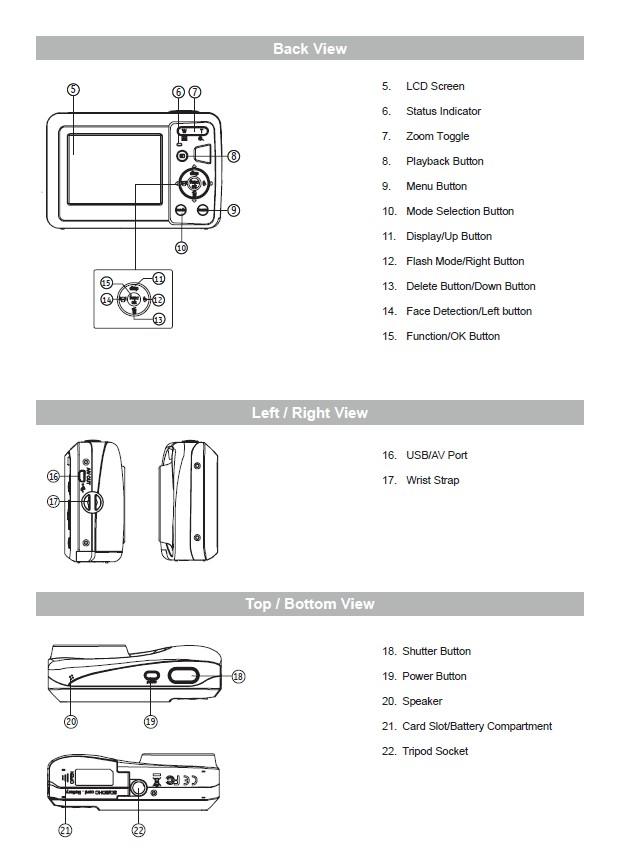 惠普HP CC330数码相机 使用说明书