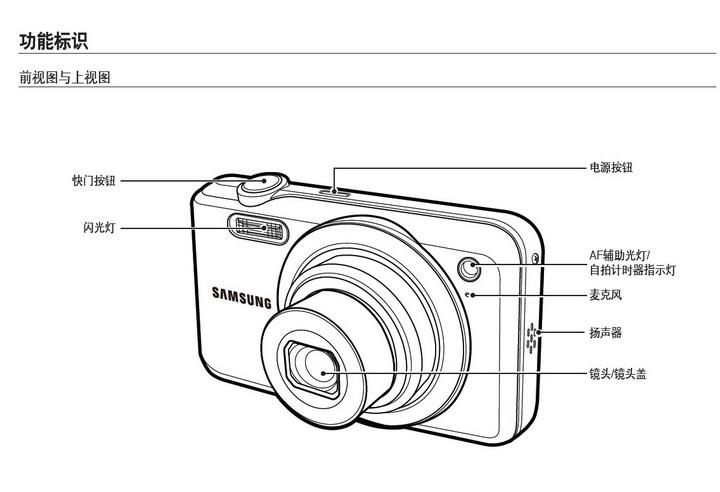 三星 ES65数码相机 使用说明书