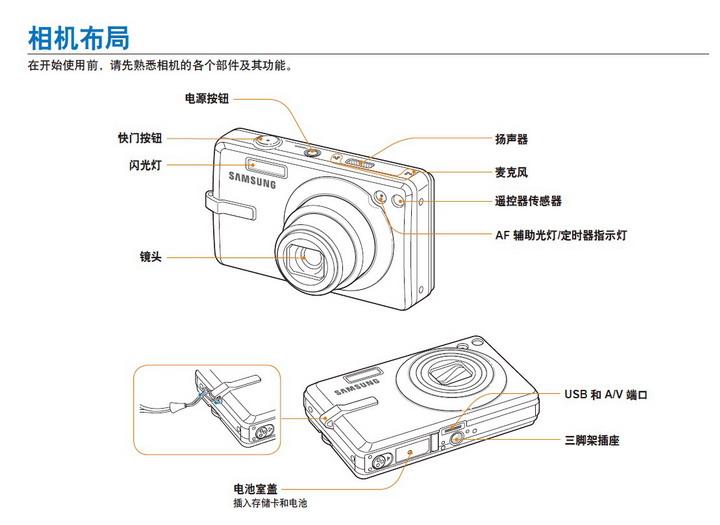 三星 IT100数码相机 使用说明书