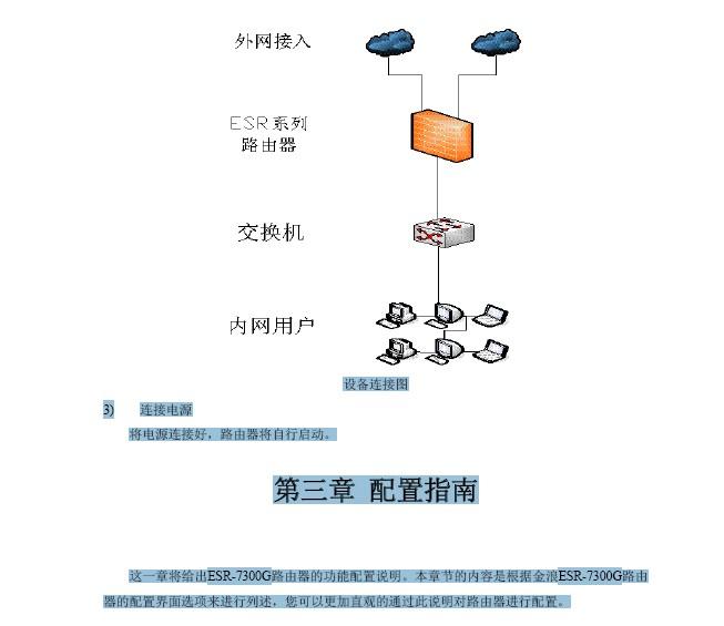 金浪ESR-7300G网关说明书