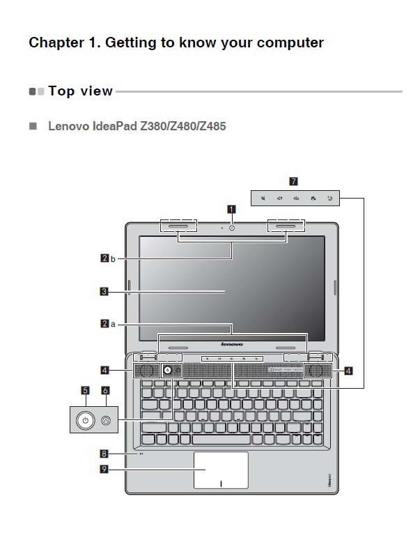 联想IdeaPad Z380笔记本电脑说明书