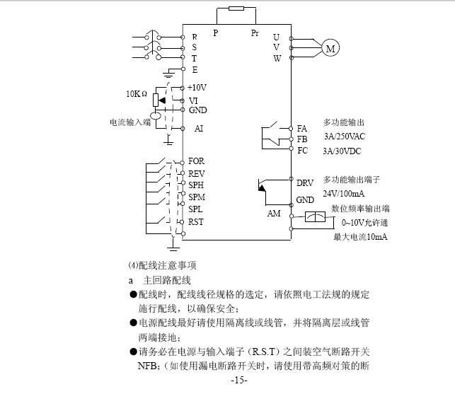 海利HLPC01D523A变频器中文说明书
